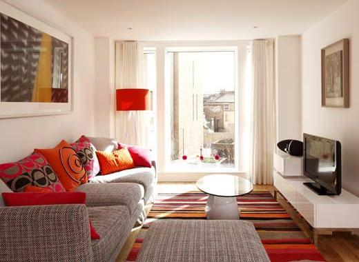 Дизайн небольшой гостинной комнаты фото