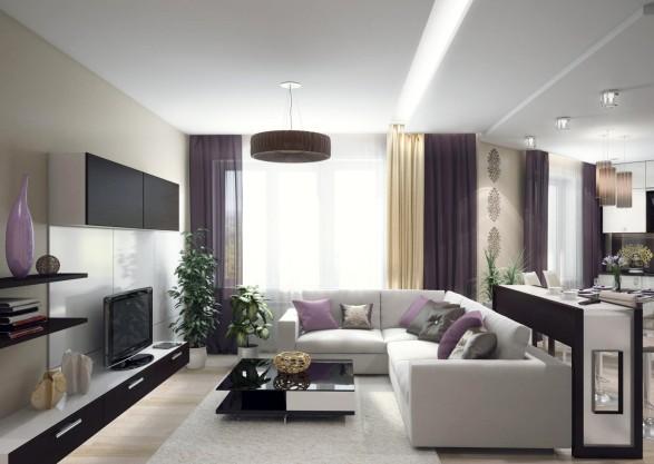 Дизайн гостиной светлые тона фото