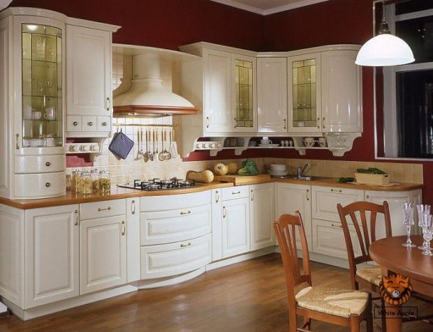 Дизайн светлой кухни фото