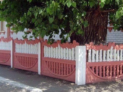 Из чего сделать палисадник перед домом фото своими руками